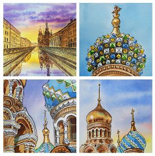 Russia Sketch