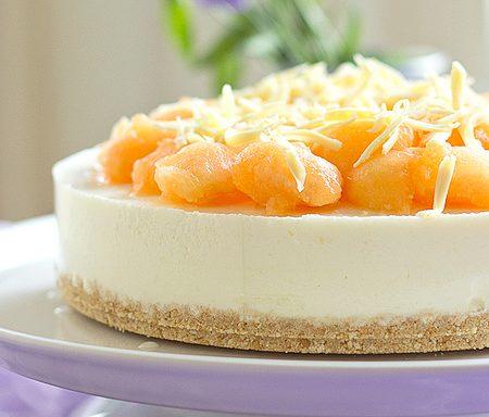 cheesecake al melone senza cottura