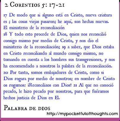 2 Corintios 5: 17-21