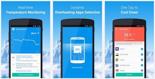 Aplikasi pendingin cpu Android