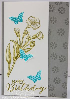 Make It In A Moment - Butterfly Basics Birthday Card