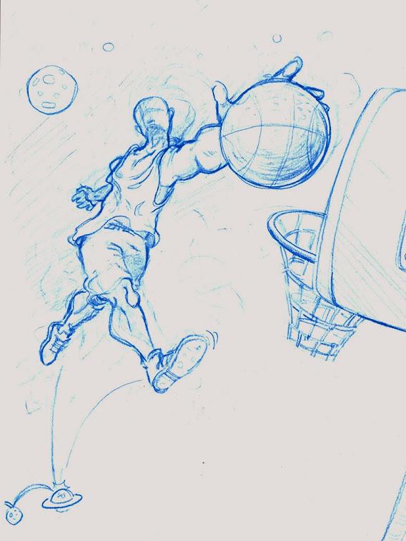 idée pour une affiche de basket
