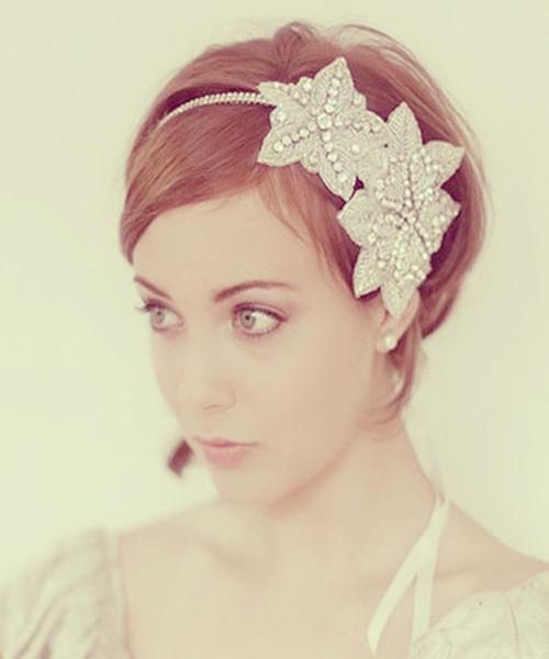 Dream Wedding Girls Wedding Hairstyles For Short Hair Short