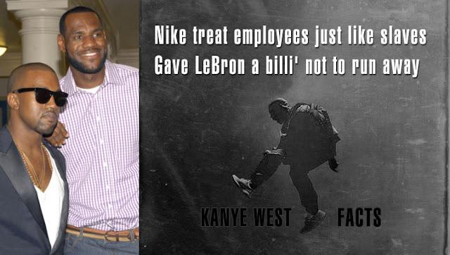 Kanye West no olvida a Nike