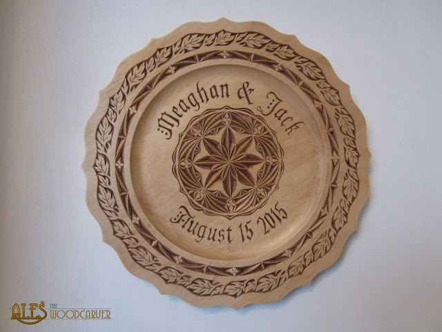 Ales the woodcarver custom chip carved pieces from summer
