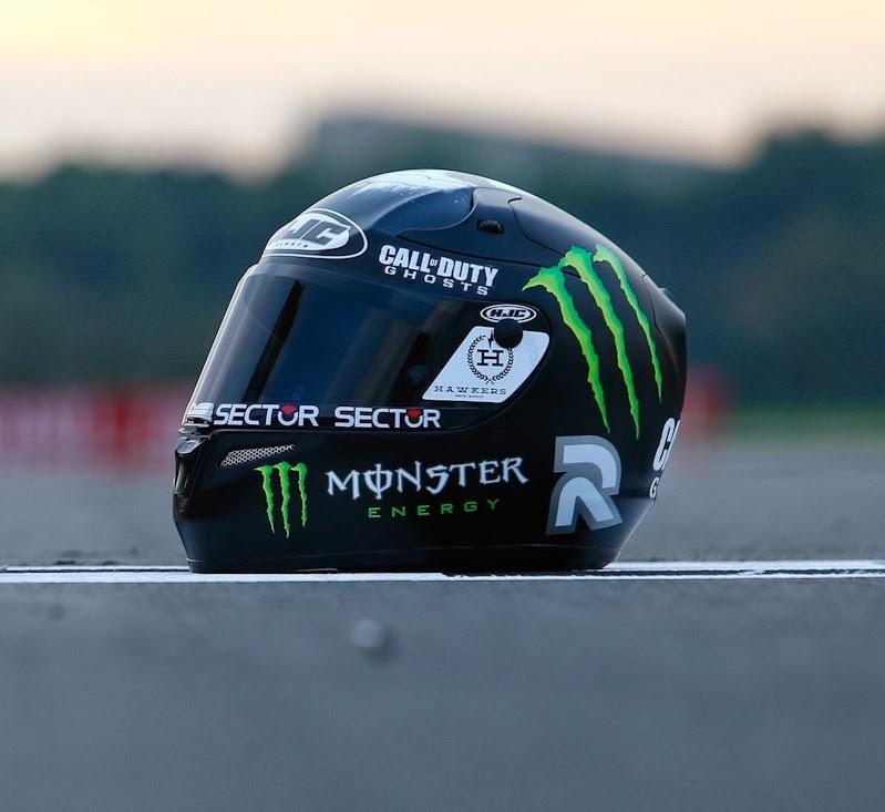 Champion Helmets: Jorge Lorenzo Call of Duty helmet Valencia