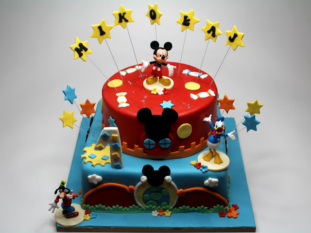 Disney's Birthday Cake in London
