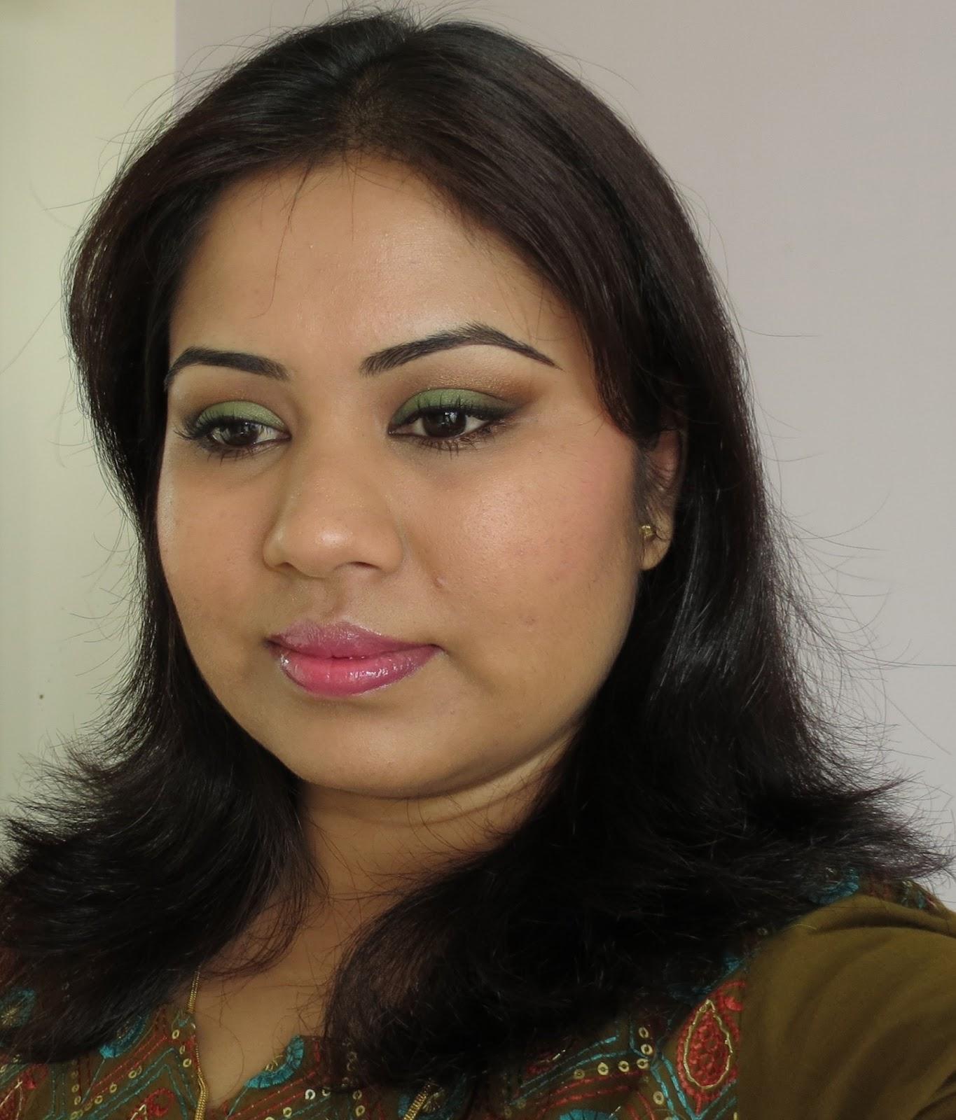 Makeupbyeesha A Wearable Everyday Green Eye Makeup Tutorial