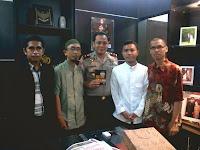 Silah Ukhuwah Pengurus DPC HTI Panakkukang bersama Kapolsek Panakkukang