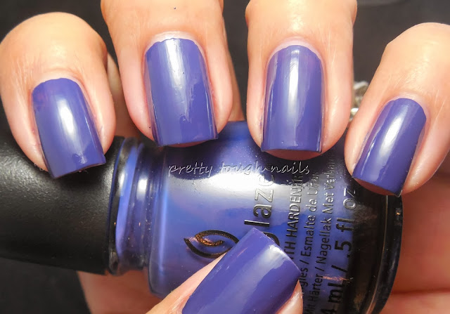 China Glaze Queen B Swatch And Review