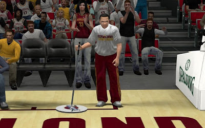 NBA 2K13 Cleveland Cavaliers Janitor