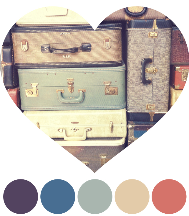 Color Schemes Inspired by Vintage Instagram Photos