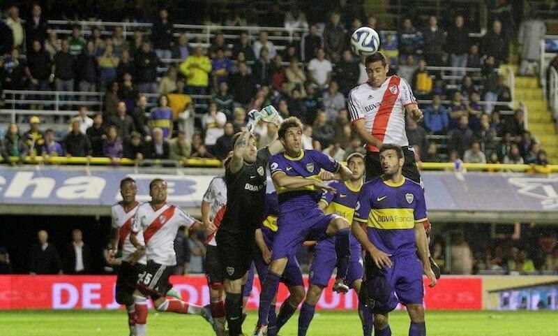 Gol de F. Mori, piscu y sanchez a Boca