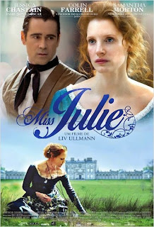 "Poster do filme ""Miss Julie"""