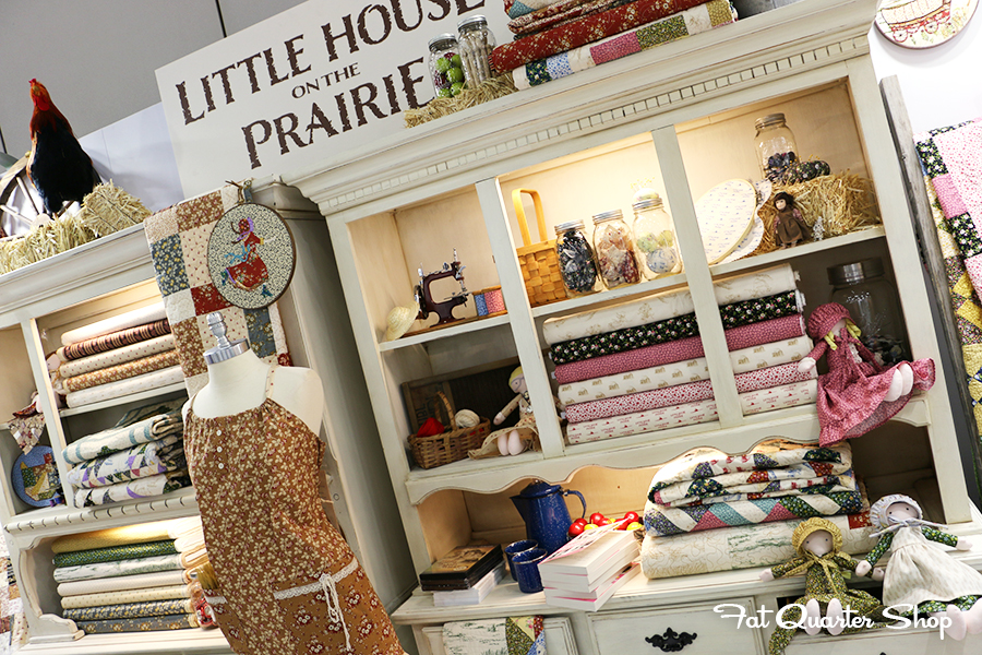 Fat quarter shop 39 s jolly jabber settle in with little for The little house shop