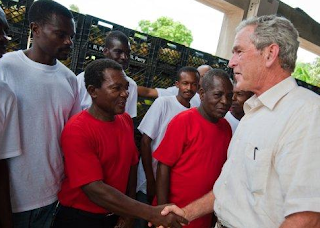 George W Bush microfinance Haiti