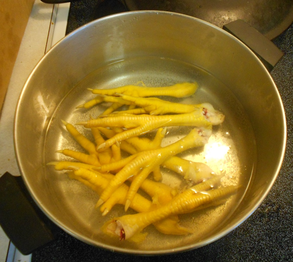 the abrahamsons chicken foot soup