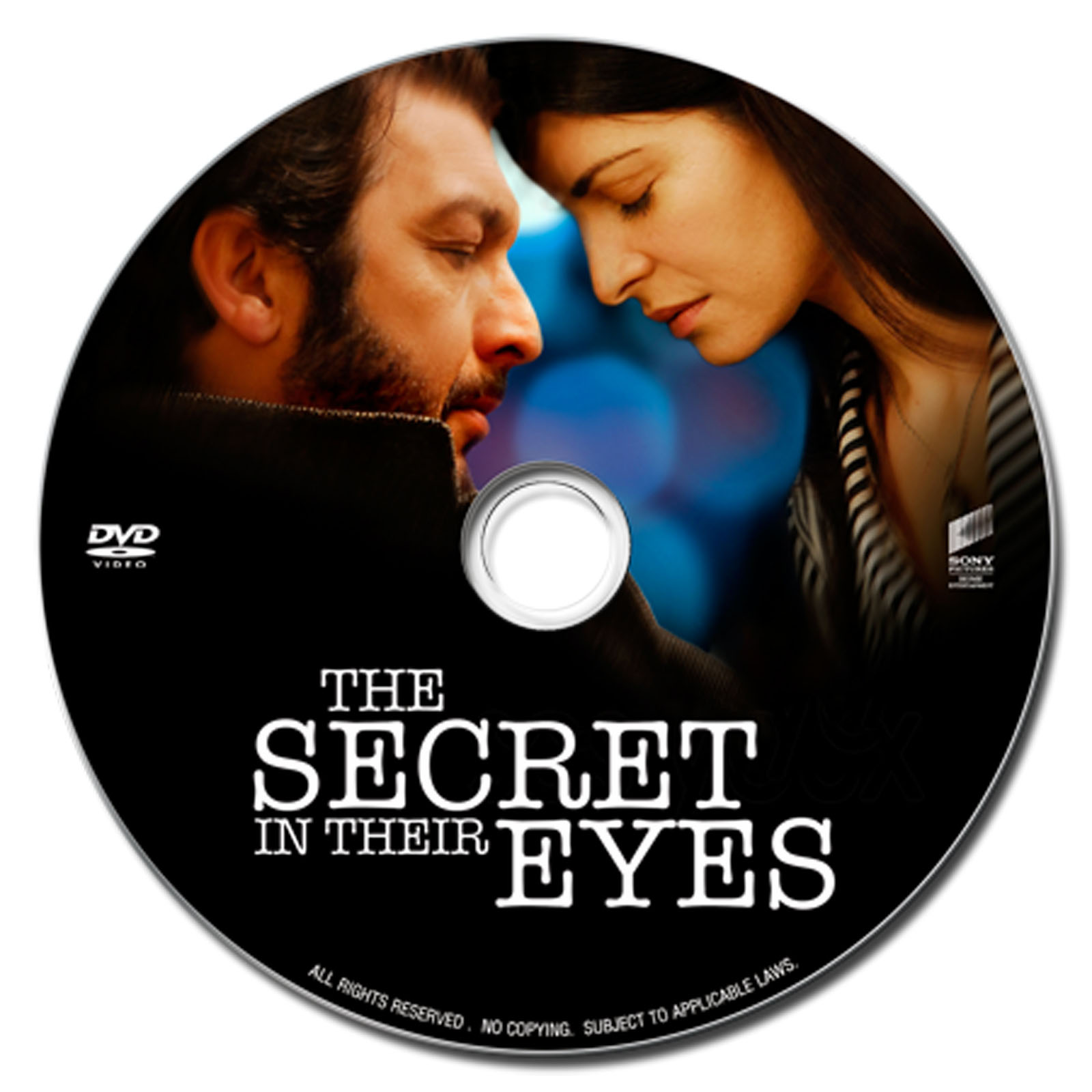 The Secret in Their Eyes Dvd Label