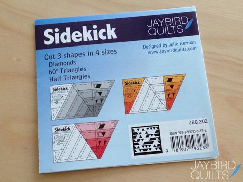 Introducing The Sidekick Jaybird Quilts
