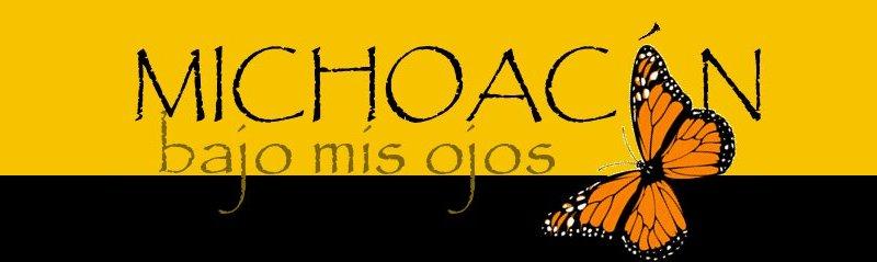 Michoacán bajo mis ojos