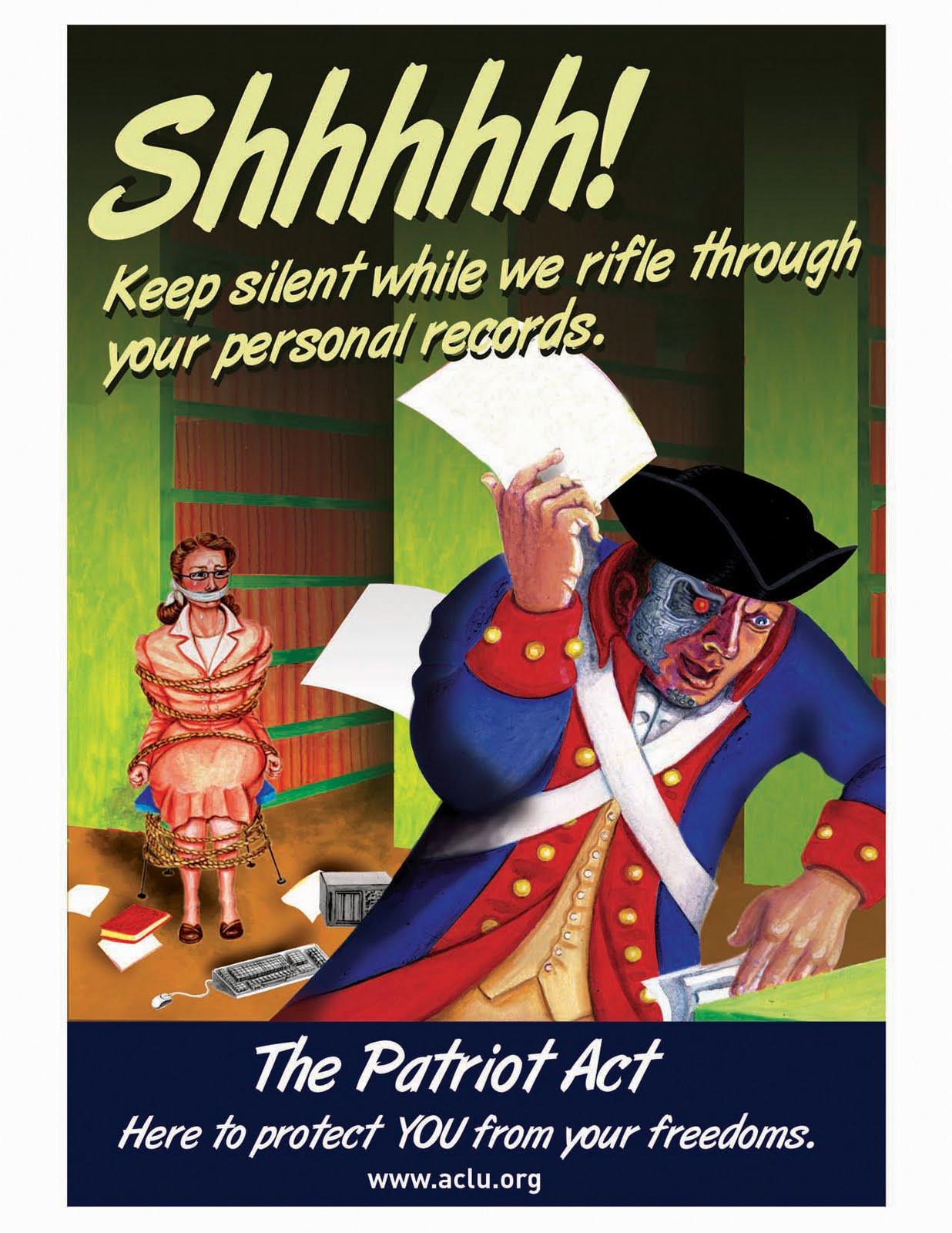 patriot act essay against