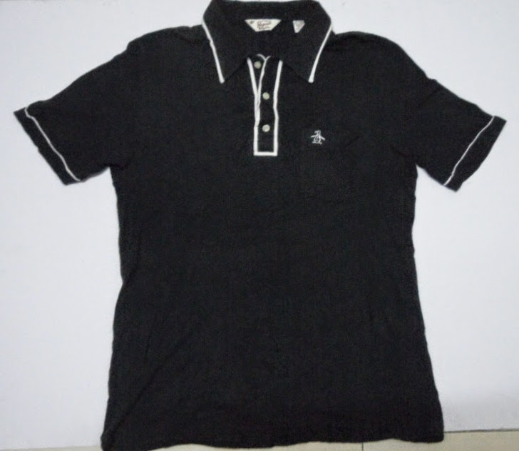 Clayback bush thrift store polo t shirt penguin by for What stores sell polo shirts