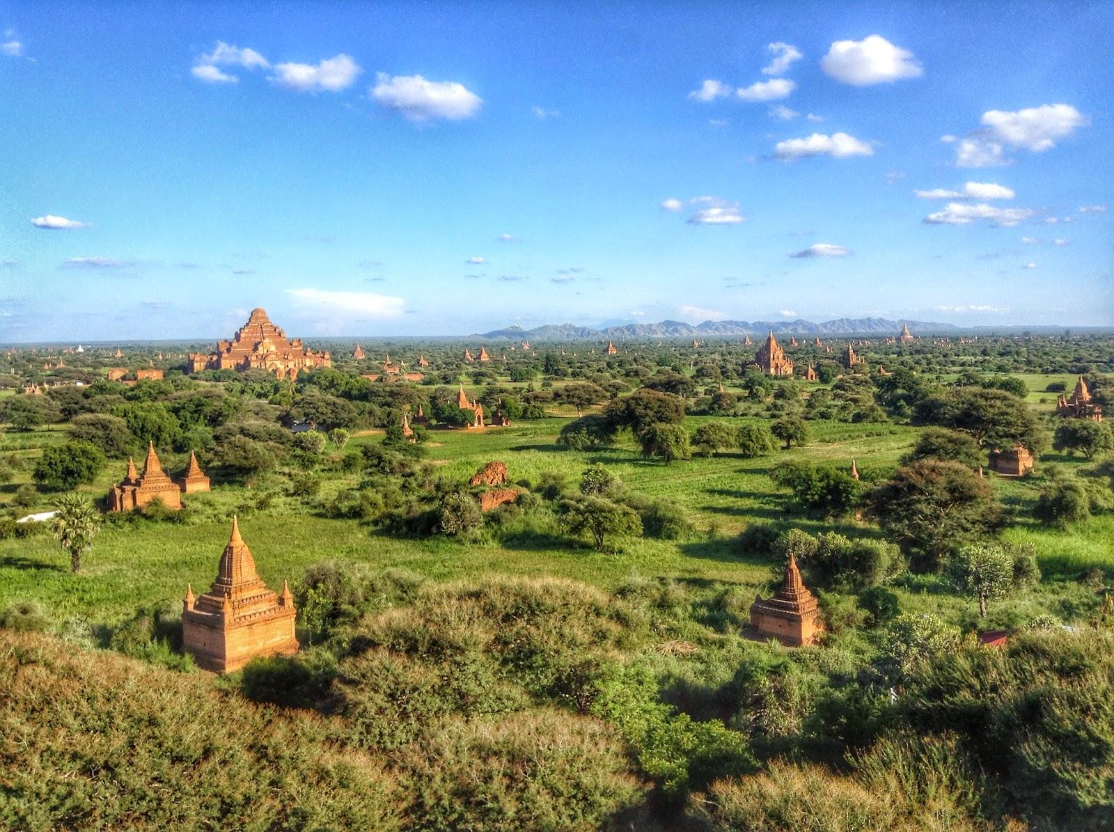 Shwe-san-daw - Sunset Pagoda Bagan