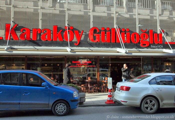 Karaköy Güllüoğlu - Istanbul. The best baklava you'll ever eat