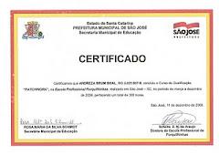 Certificações de Patchwork