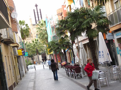 Castelldefels downtown