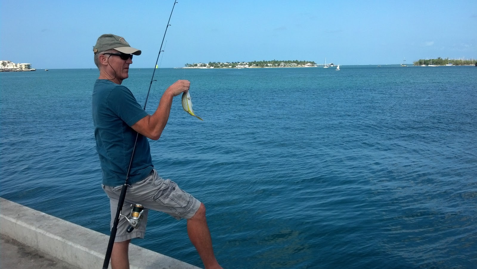 A twist of key lime shore fishing the original social for Best shore fishing in wisconsin