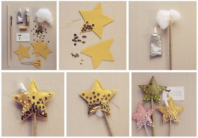 Handmade New Year Star