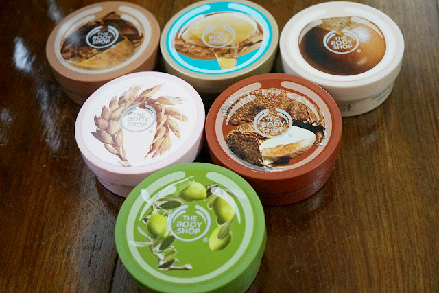 The Body Shop Body Butter Shea, Cocoa Butter, Brazil Nut, Wild Argan Oil, Olive, Vitamin E
