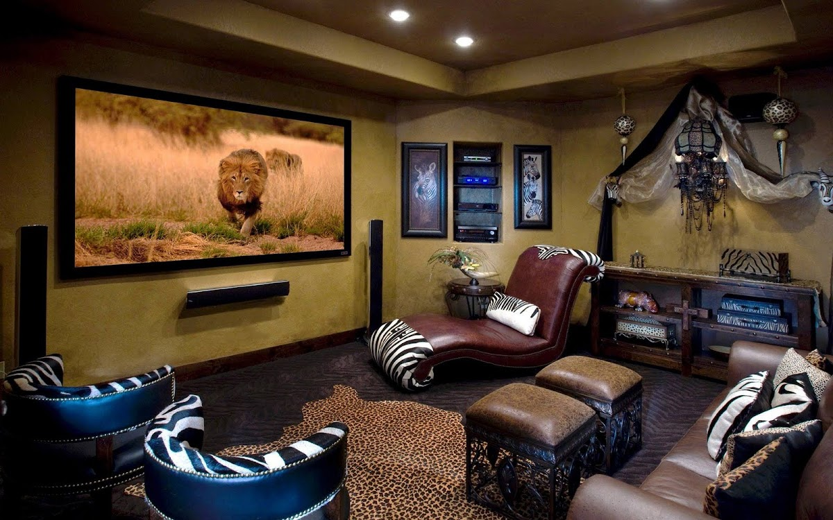 Amazing Living Room Widescreen Wallpaper 10