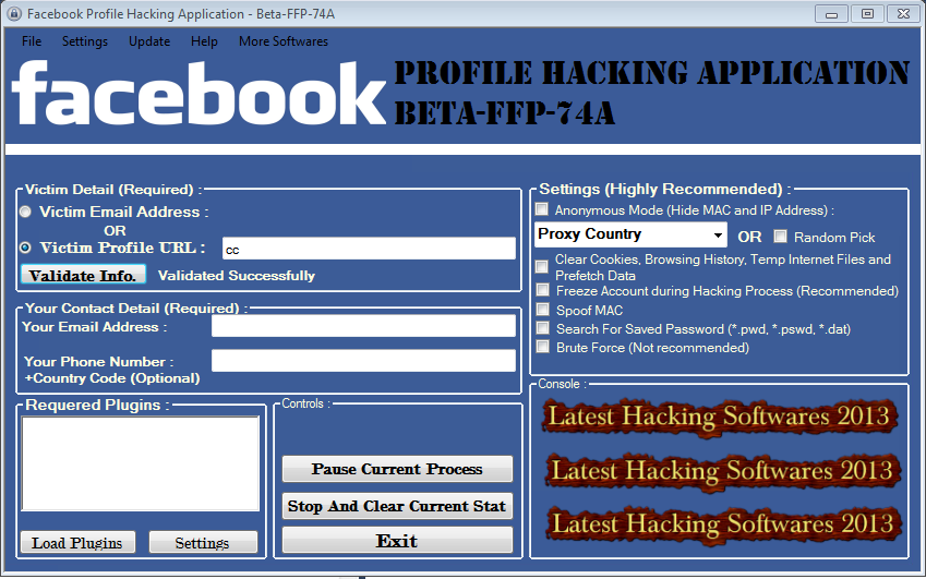 Facebook Password Hacker Software Free - Thatssoft Crack Software