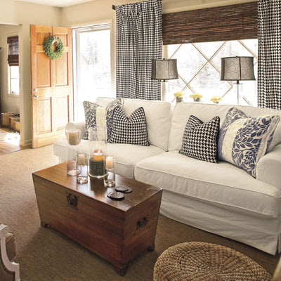 Home Decor 2012: Cottage Living Room Decorating Ideas 2012