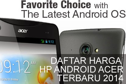 Harga Hp Android Acer