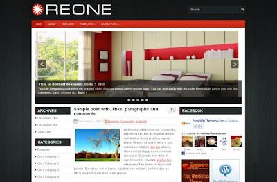 Free Wordpress Wooden Business Theme Template