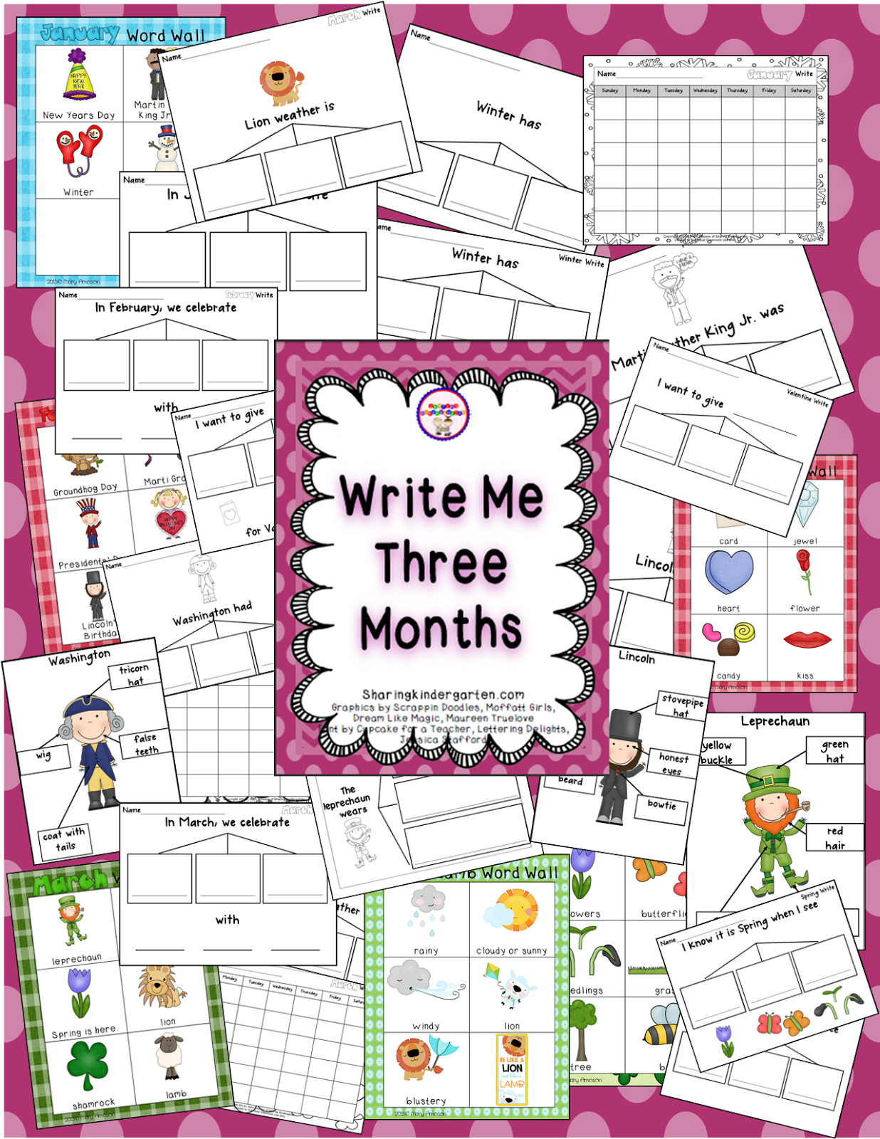 http://www.teacherspayteachers.com/Product/Write-Me-Three-Months-636707