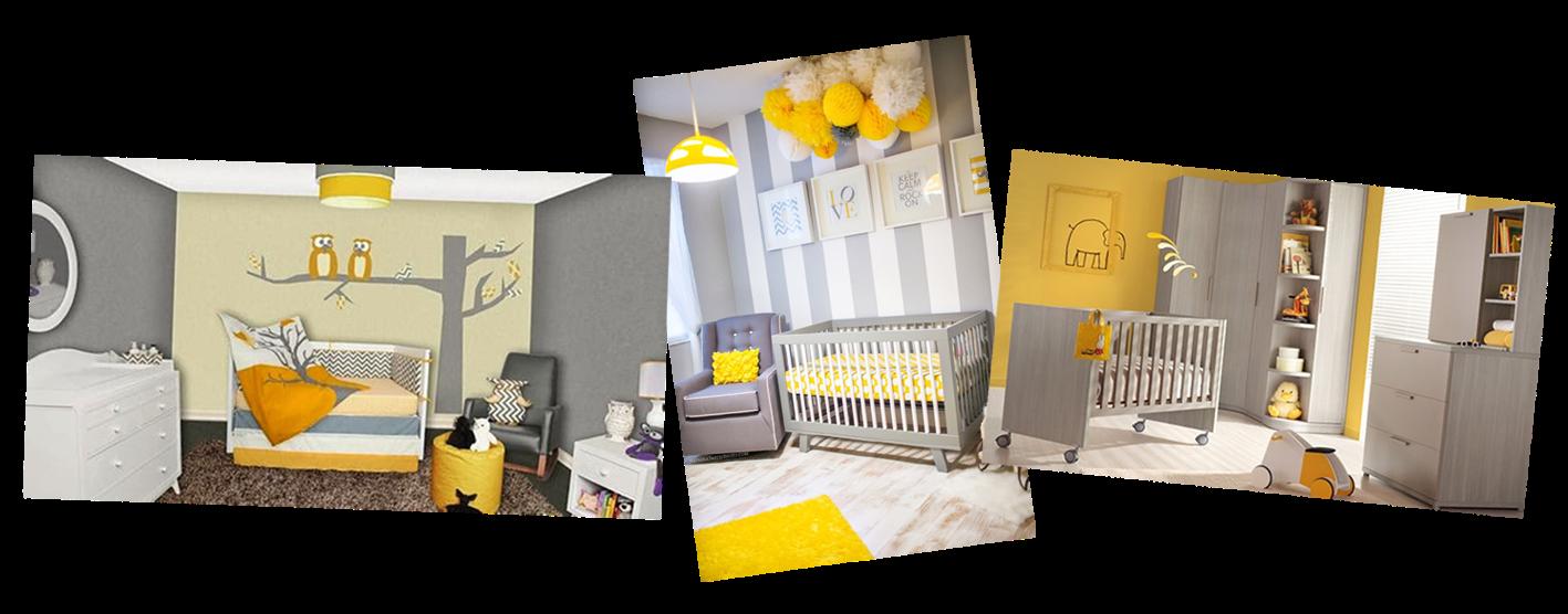 Pashion decoraci n del hogar gris y amarillo for Decoracion hogar gris