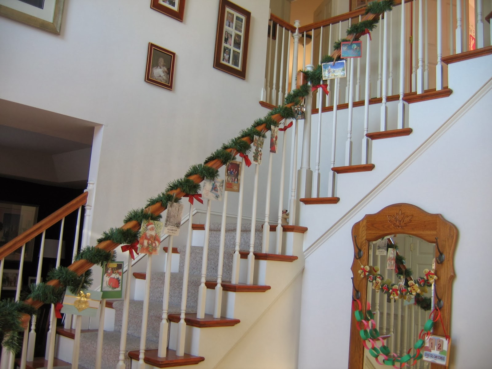 CONTROLLING Craziness: Displaying Christmas Cards - old and new ...