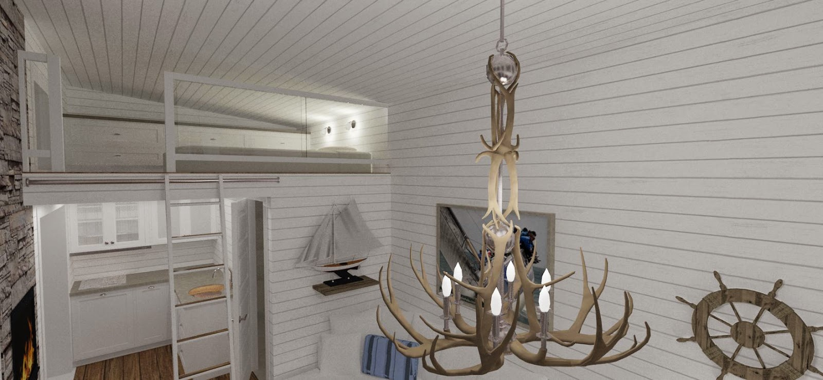 Den vita drömgården: det moderna attefallshuset goes new england!