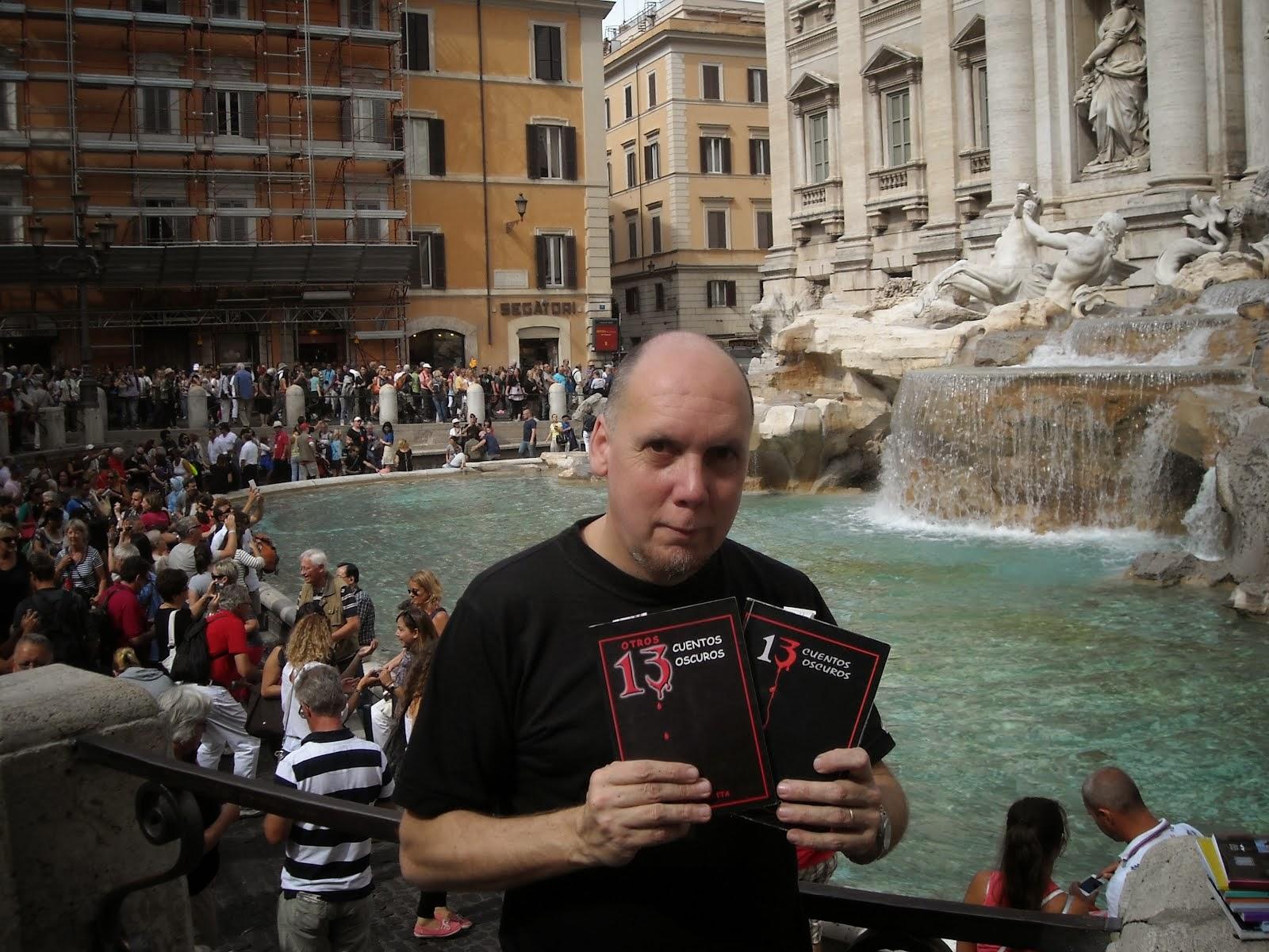 cuentos oscuros en la Fontana di Trevi