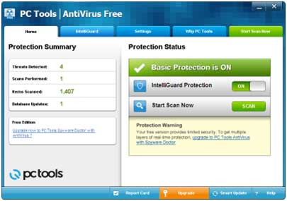 Download PC Tools Antivirus