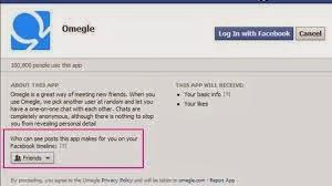 omegle facebook trick