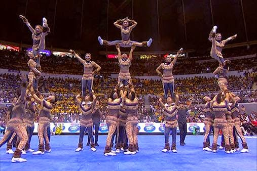 NU Pep Squad - 2014 UAAP Cheerdance Competition winner