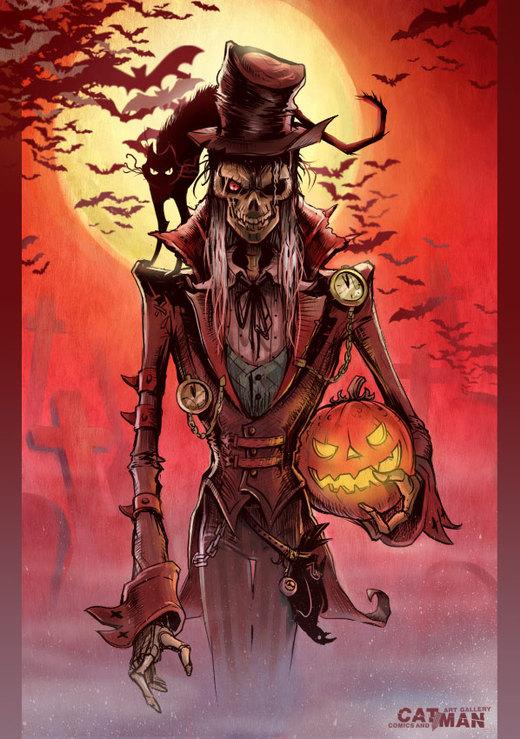 Halloween 2008 por x-catman