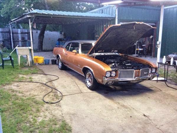 1972 Oldsmobile Cutlass Supreme Convertible - Buy American ...
