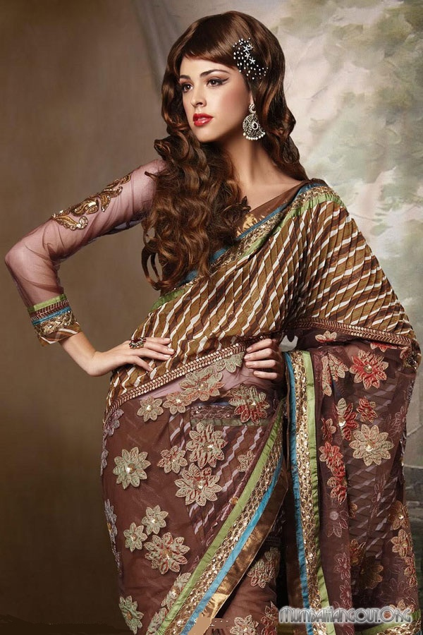 hairstyles for indian clothes