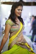 Aswi Glamorous Photos in Half Saree-thumbnail-13